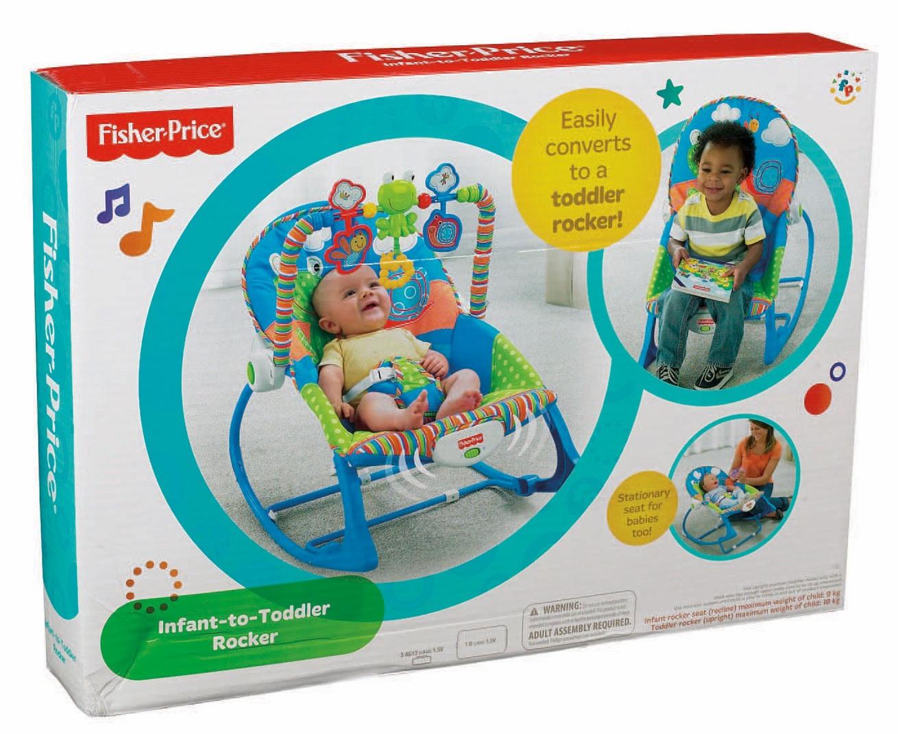 Ghế rung Fisher Price dành cho bé sơ sinh đến 2-3 tuổi